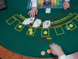 deal with a home poker game